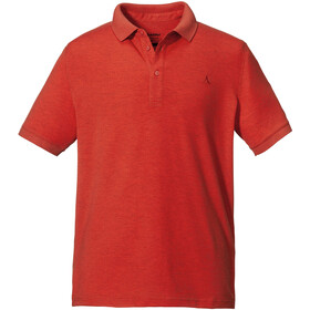Schöffel Brisbane Polo Shirt Men, chilli